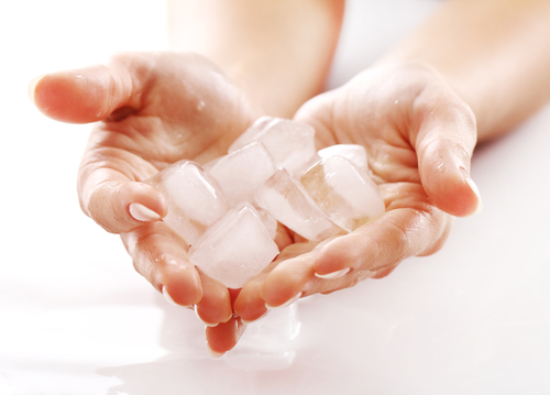 ice massage